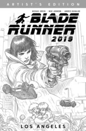 Blade Runner 2019 Vol 1 B&W Art Edition