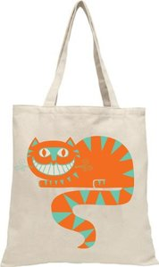 Cheshire Cat Tote Bag