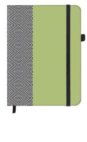 Hexagon SoftTouch Notebook small 9x14