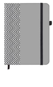 Herringbone SoftTouch Notebook Office 16x22