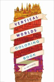 Vertical Worlds Colouring Book