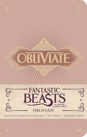 Fantastic Beasts And Where To Find Them: Obliviate Notebook