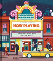 Now Playing: a Seek and Find Book for Film Buffs