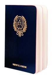Parisian Chic Passport blue