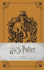 Harry Potter Hufflepuff Ruled Pocket