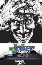 DC Comics Joker Hardcover Ruled Journal  Artist Edition