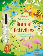 Wipe-Clean: Animal Activities