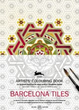 Barcelona Tiles Coloring book