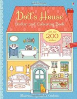 Dolls House Sticker and Colouring Book
