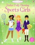 Sticker Dolly Dressing Sports Girls