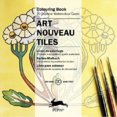 Art Nouveau Tiles Coloring book