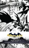 DC Comics Batman Hardcover Ruled Journal Artist Edition