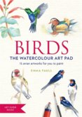 BIRDS Watercolour Art Pad