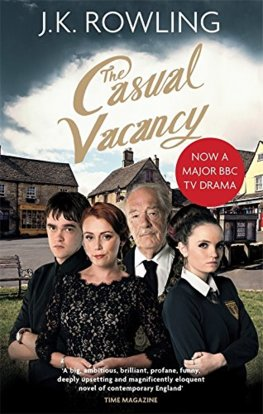 Casual Vacancy Tie in