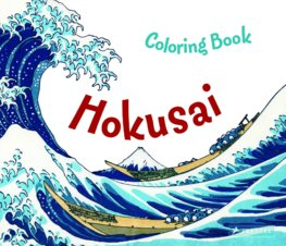 Colouring Book Hokusai