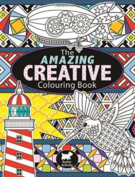Amazing Creative Colouring Book