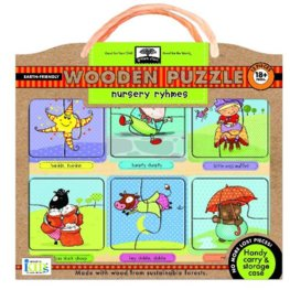 GS Nursery Rhymes Wooden Puzzle
