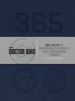 Doctor Who: 365 Days of Memorable