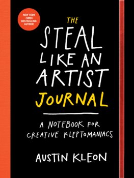 The Steal Like an Artist Journal
