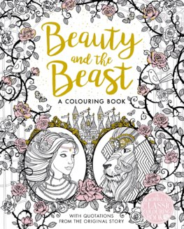 Beauty and the Beast: A Colouring Book