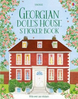Georgian DollS House Sticker Book