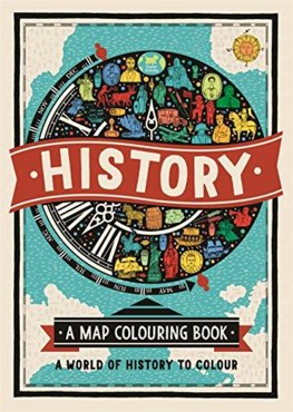 History A Map Colouring Book