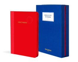 Parisian Chic Notebook red, large