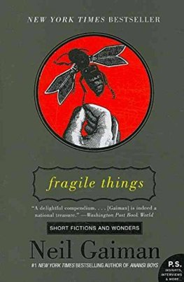 Fragile Things Film Tie-in