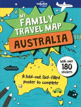 My Family Travel Map - Australia 1