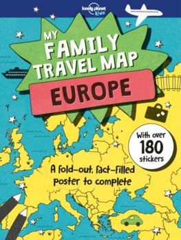My Family Travel Map - Europe 1