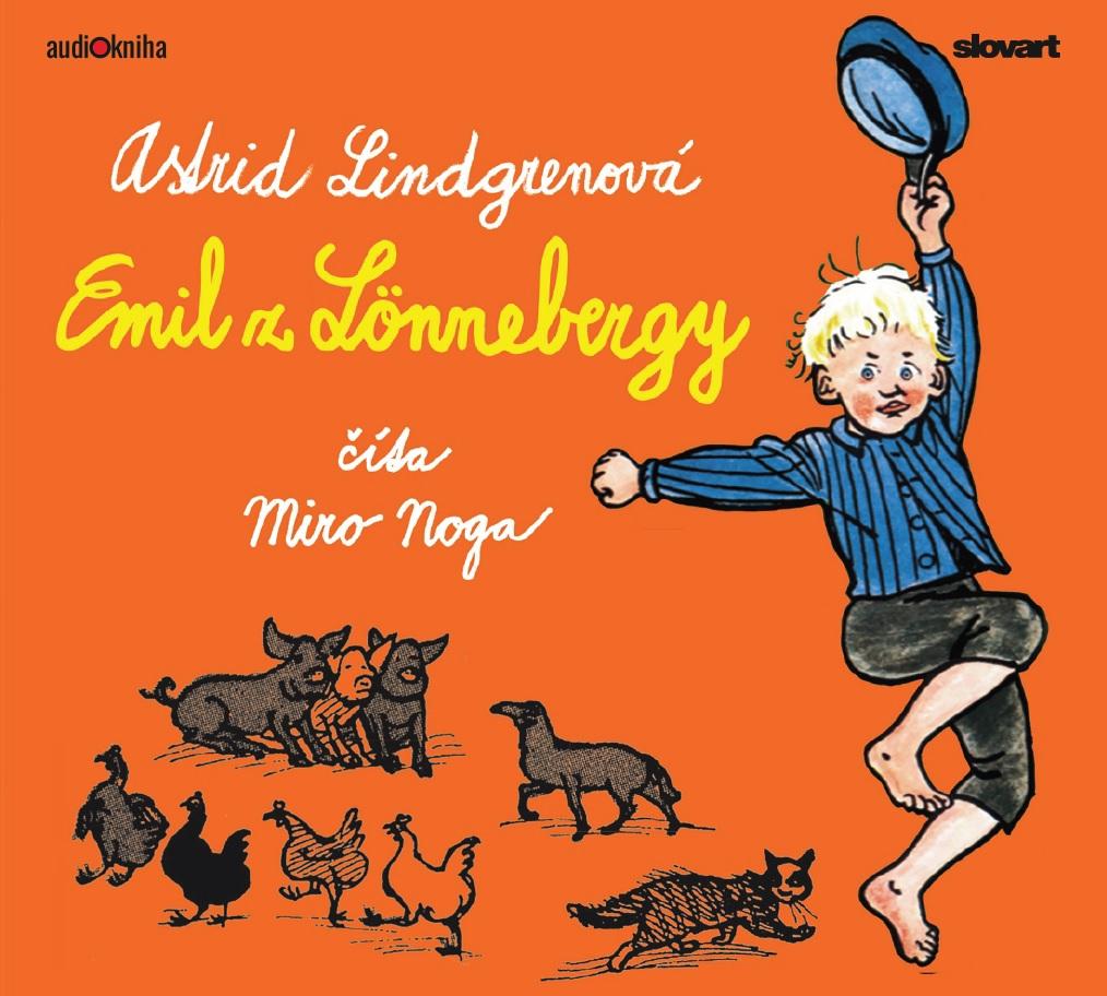 Audiokniha Emil z Lönnebergy