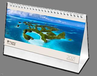 Stolový kalendár Amazing Planet 2021
