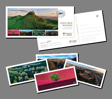 Postcards Slovakia (Set 5 pohľadníc)
