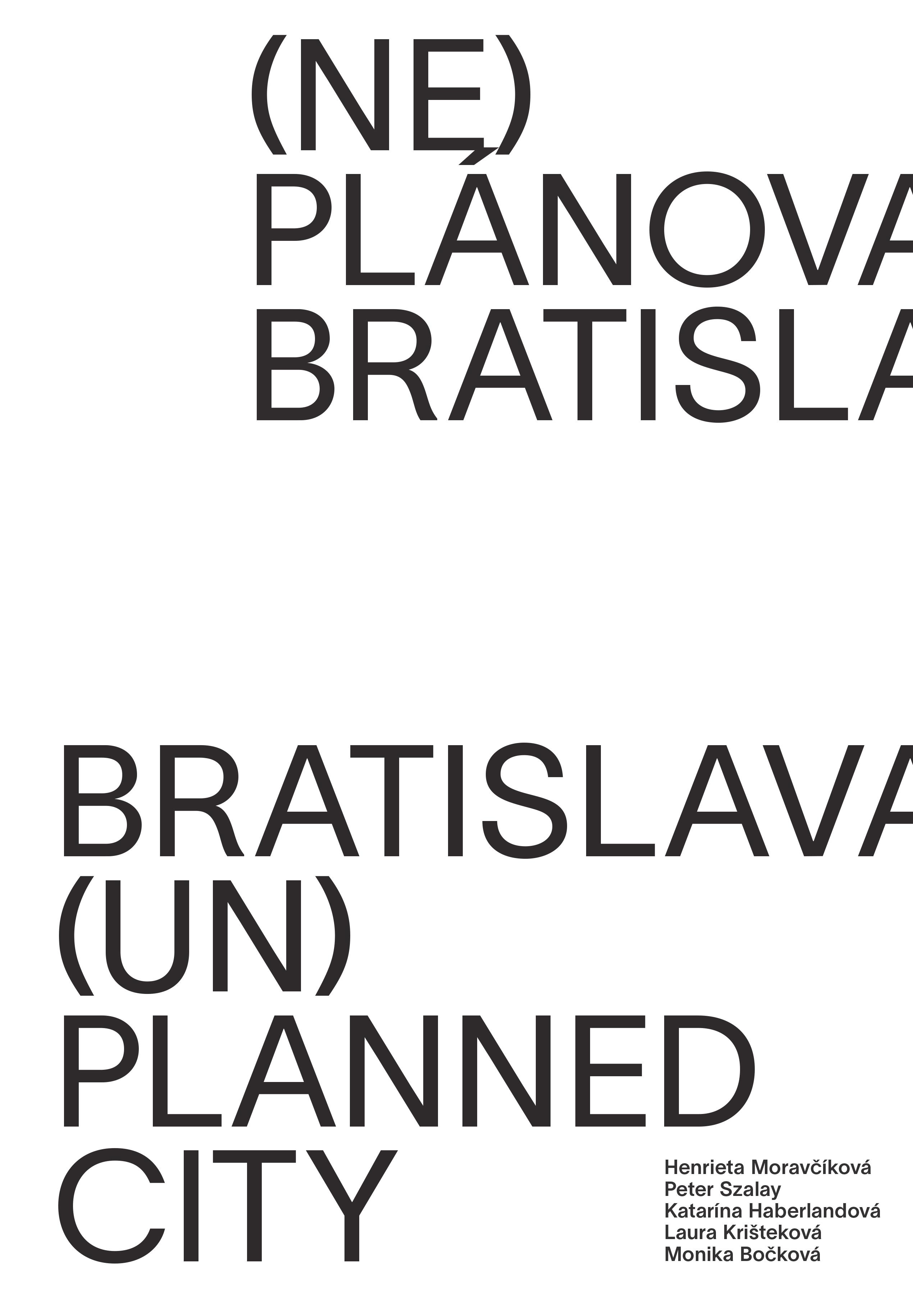 (Ne)plánovaná Bratislava