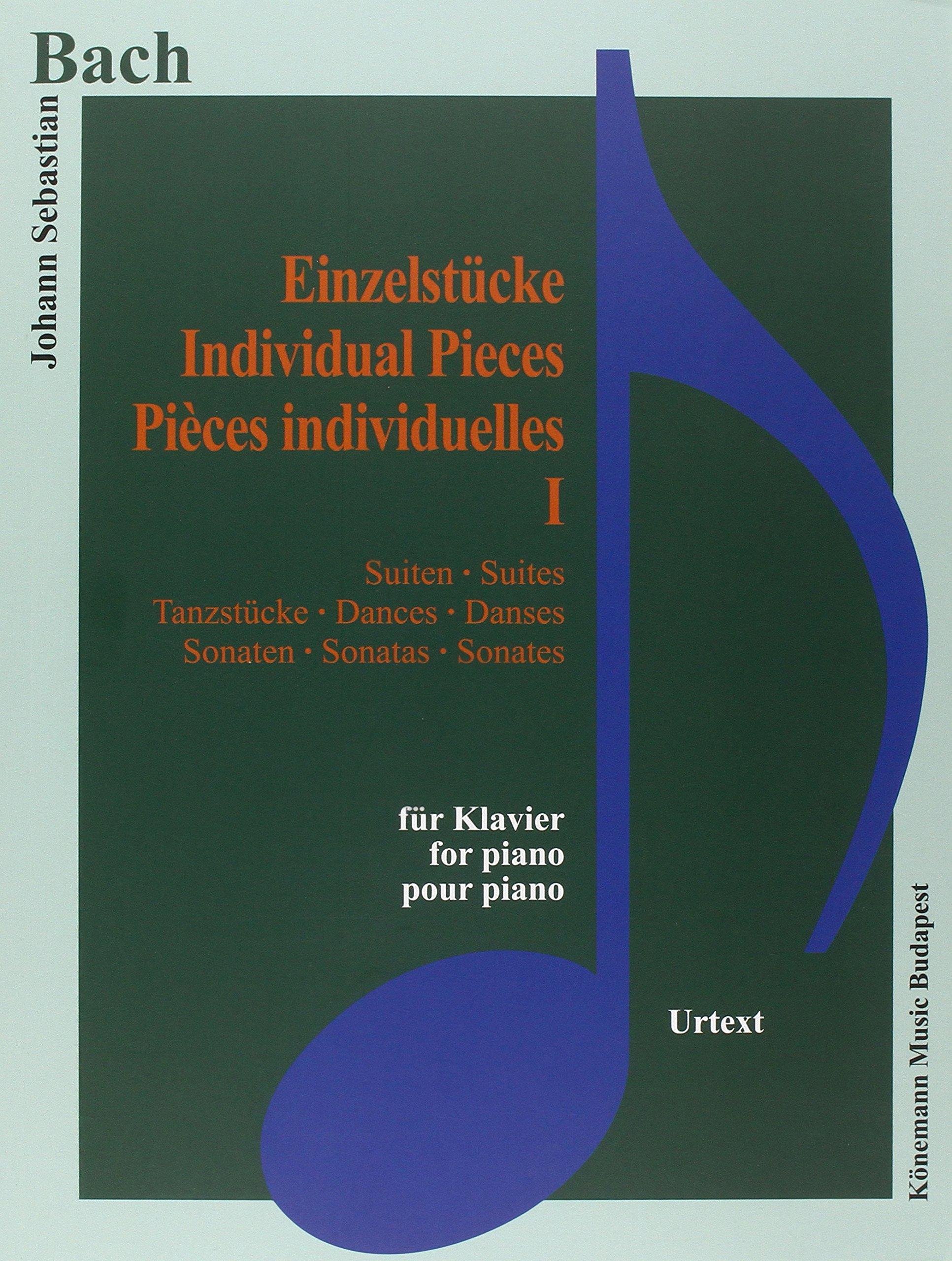 Bach JS  Einzelstucke I  Suiten, Tanzstucke, Sonaten