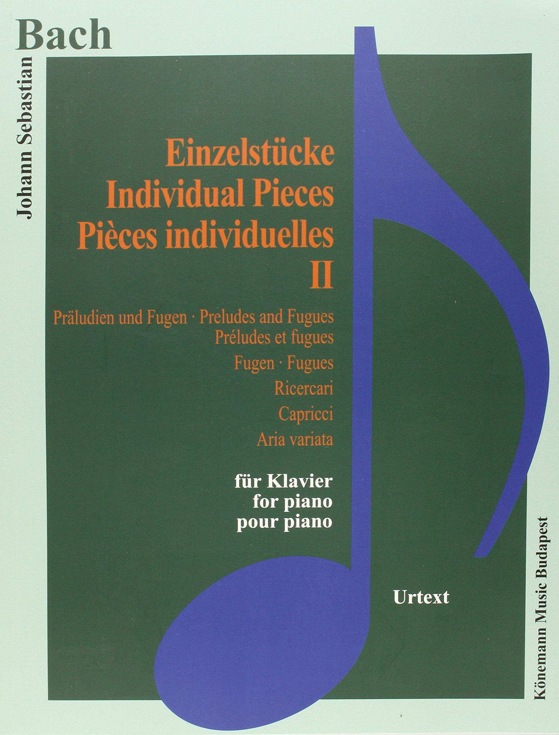 Bach JS  Einzelstucke II
