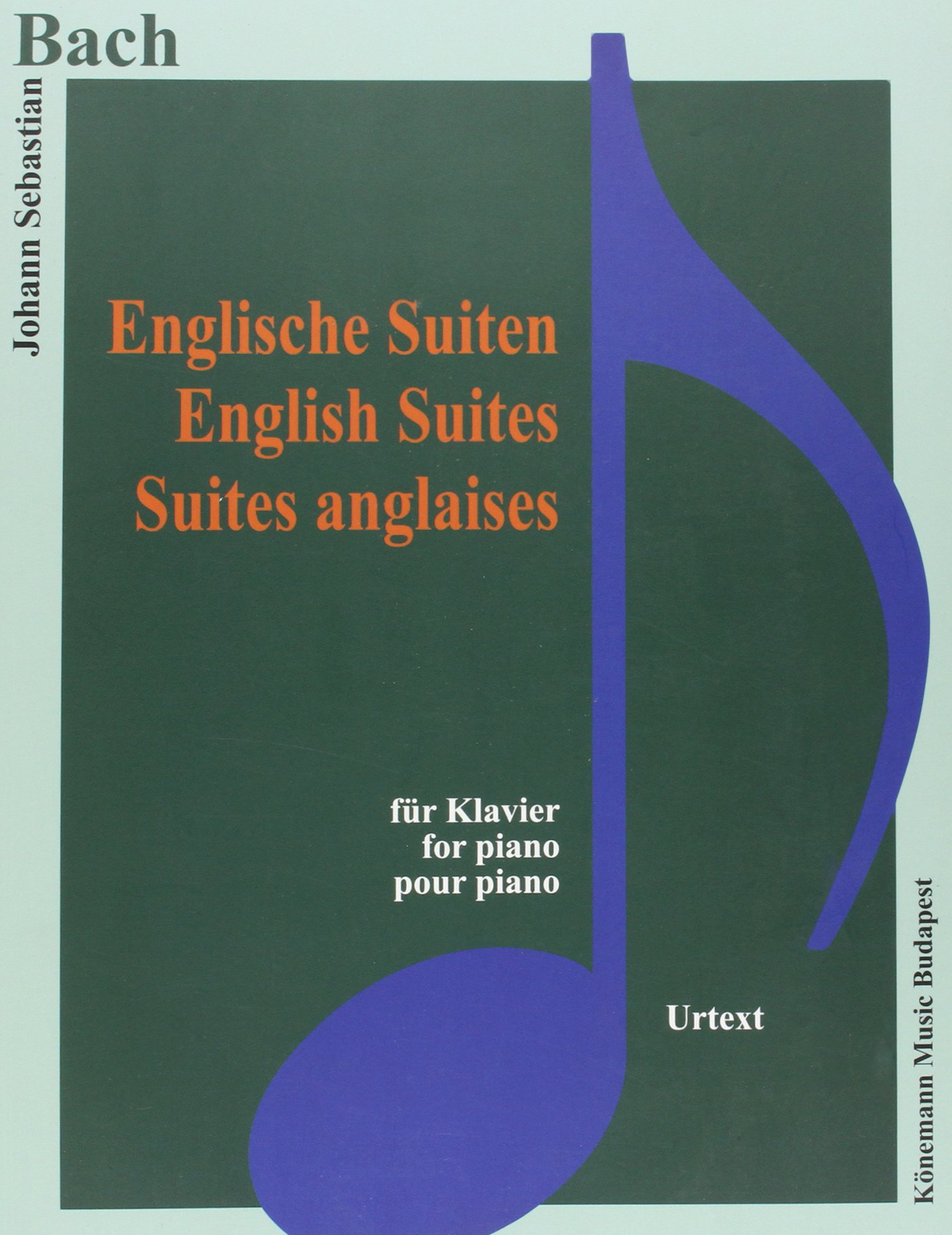 Bach JS  Englische Suiten