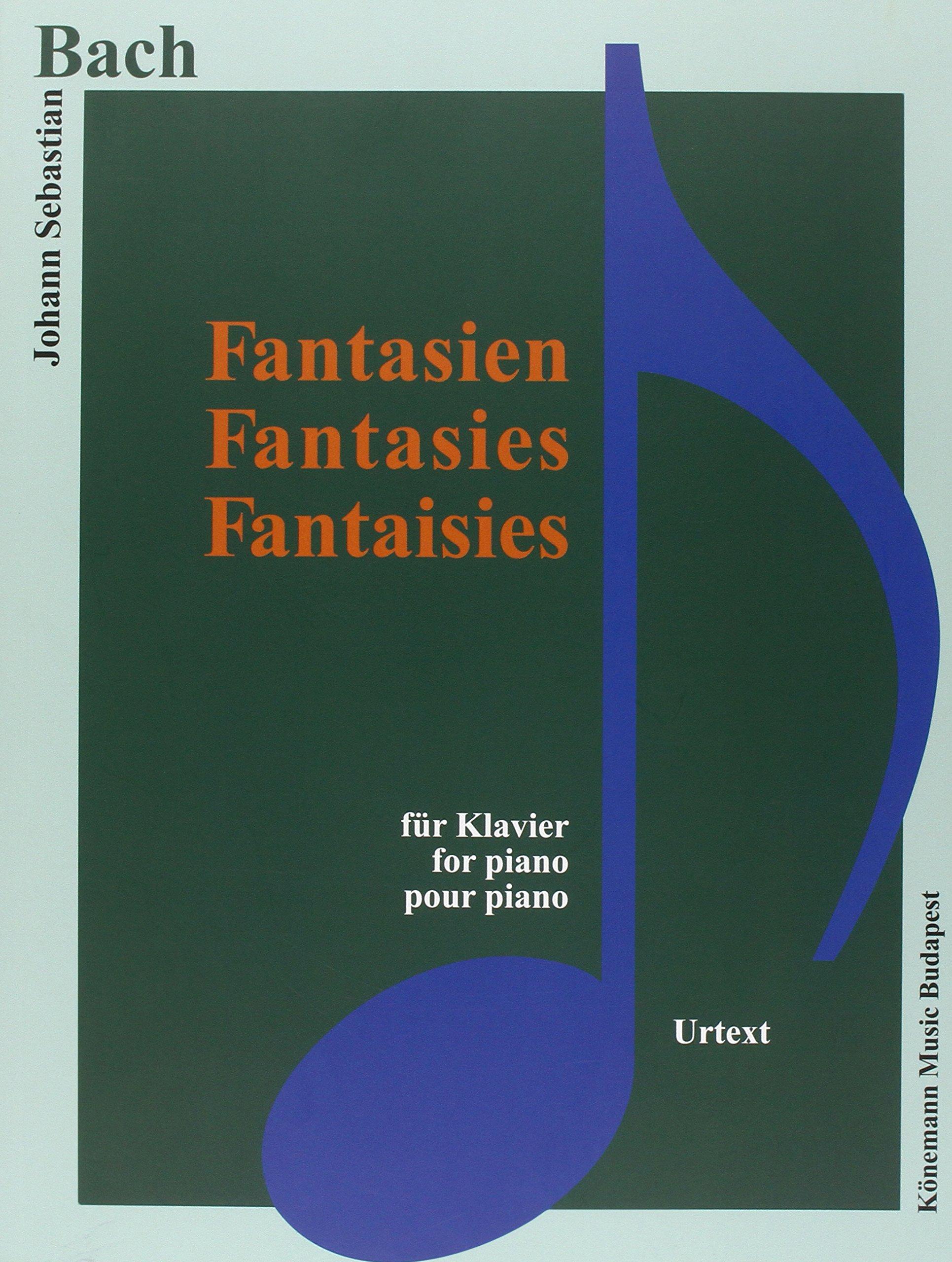 Bach JS  Fantasien