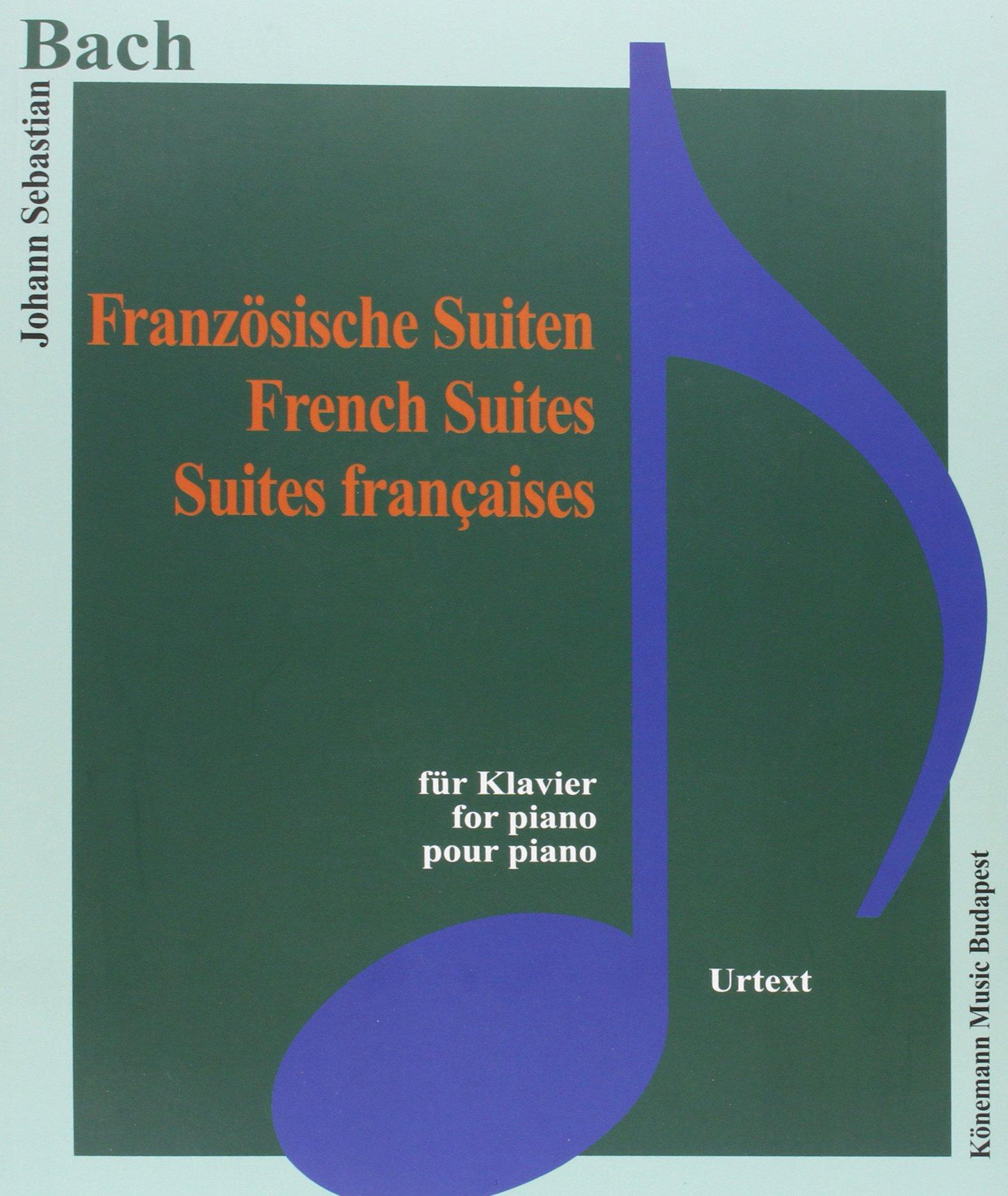 Bach JS  Franzosische Suiten