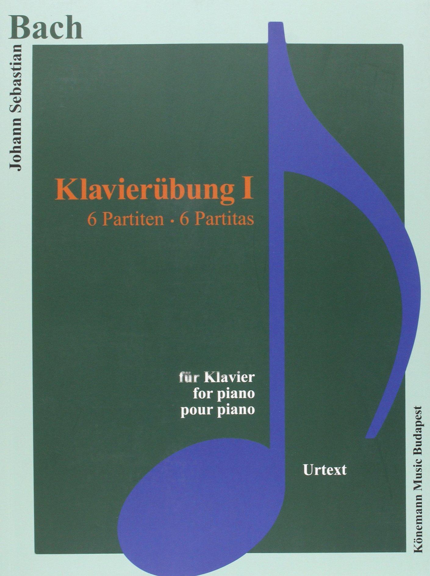 Bach JS  Klavierubung I