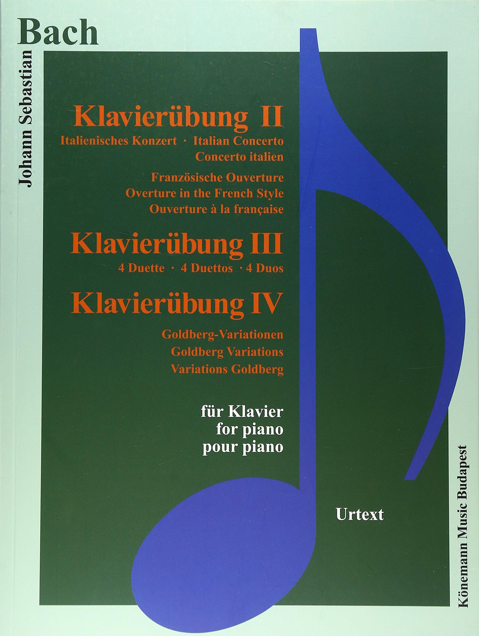 Bach JS  Klavierubung II-IV