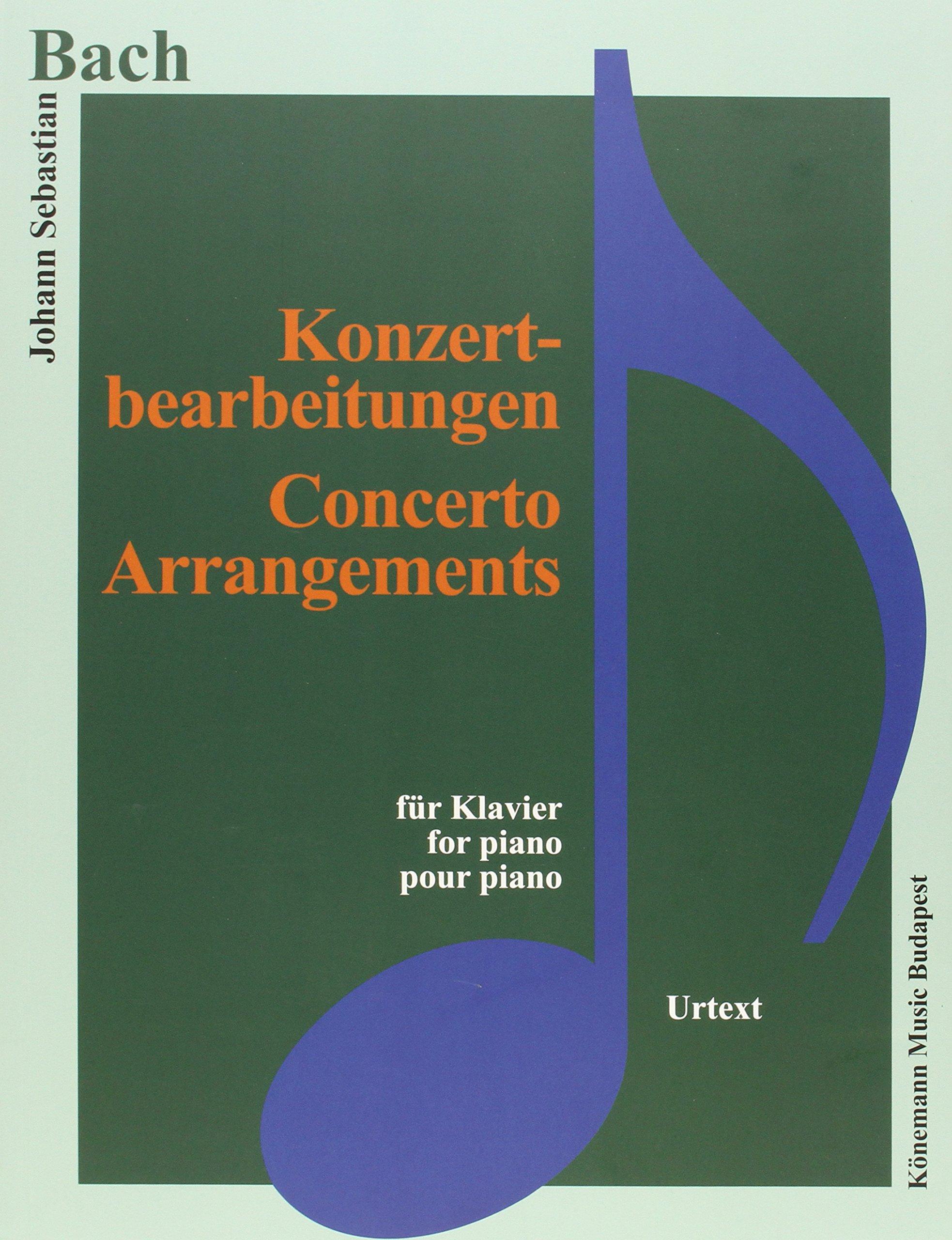 Bach JS  Konzertbearbeitungen