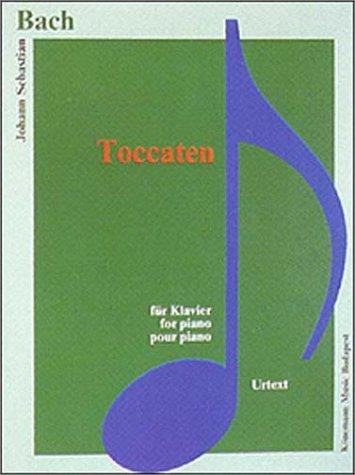 Bach JS  Toccaten