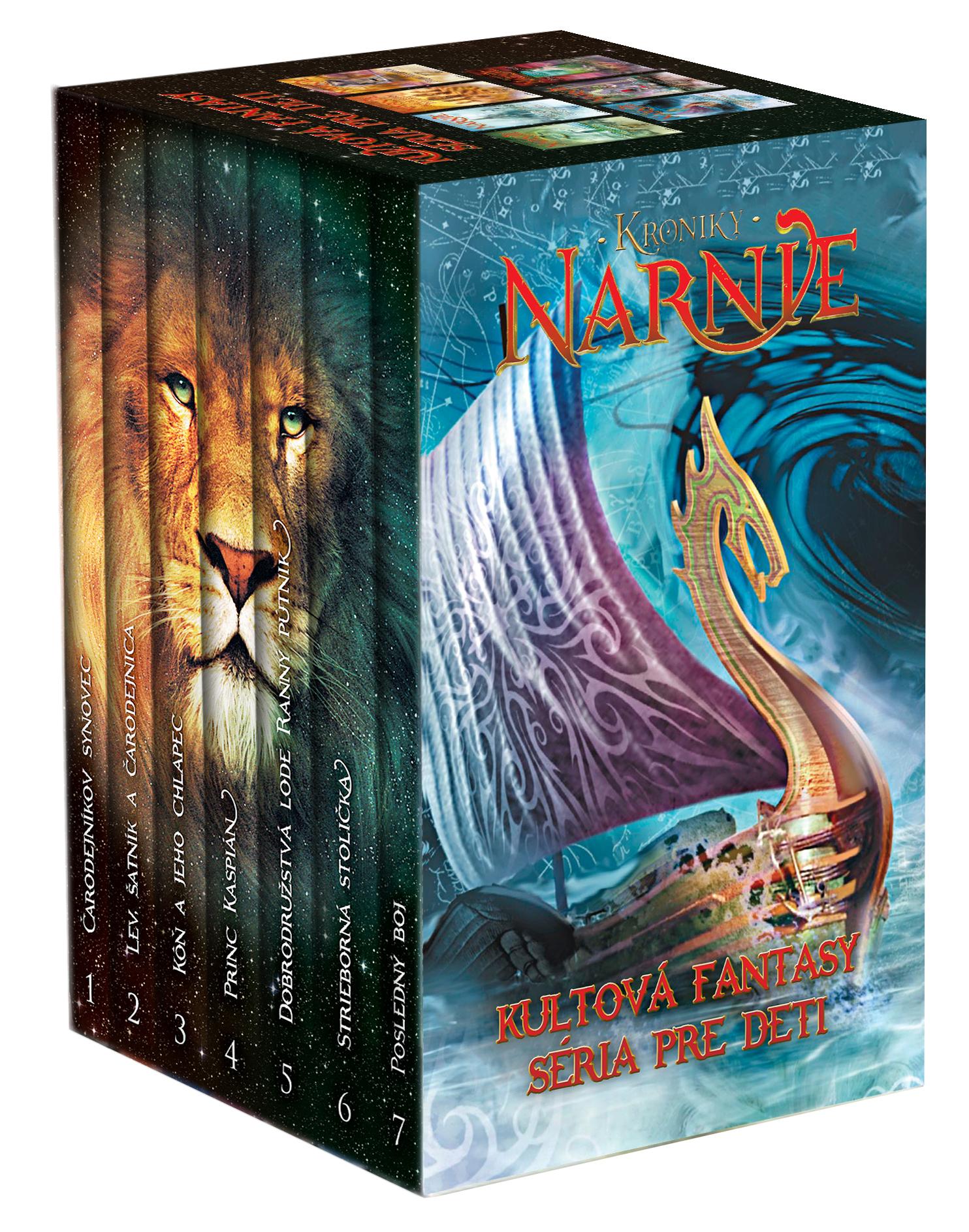 Kroniky Narnie set