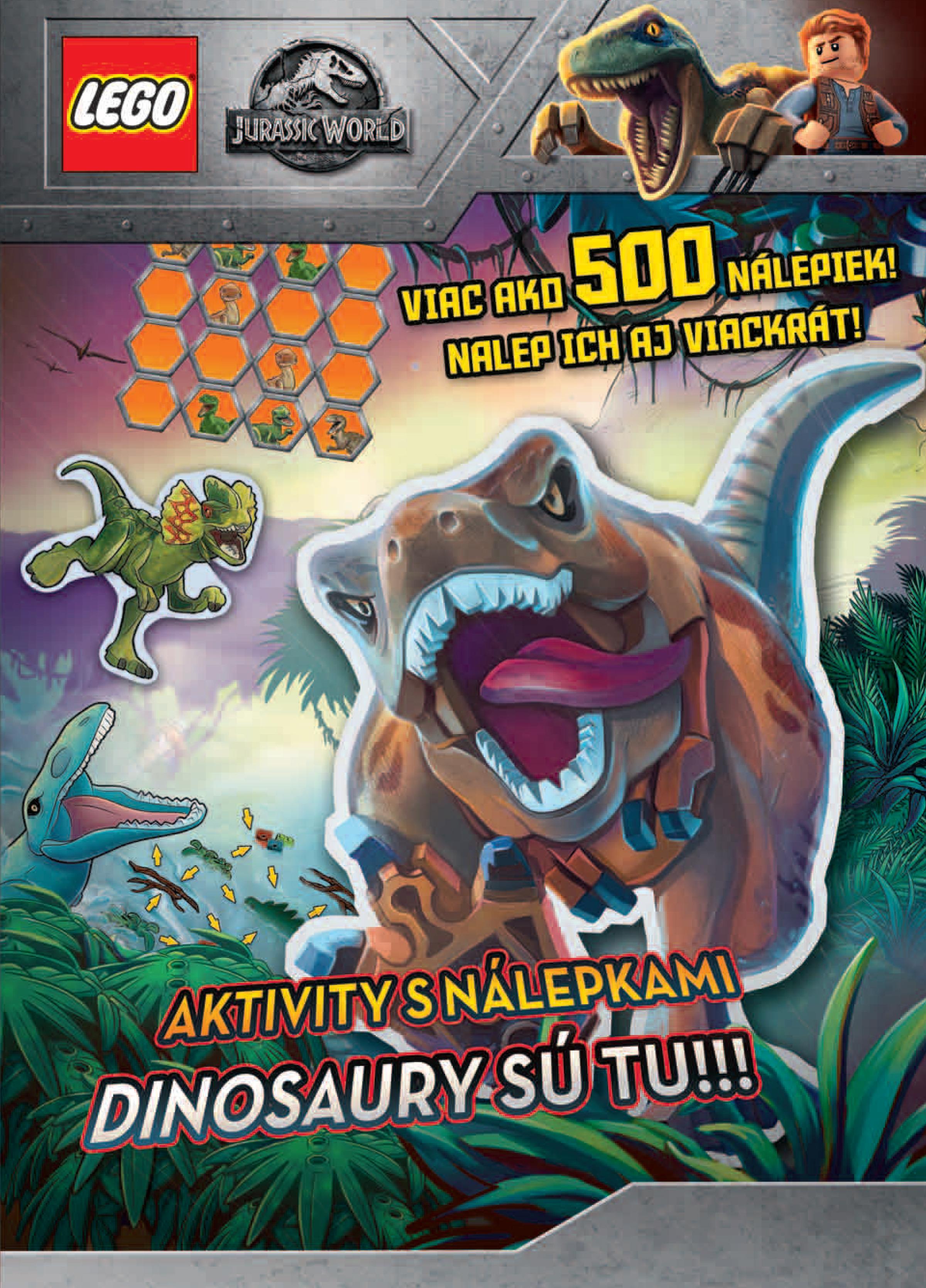 Jurský svet. Dinosaury sú tu!!!