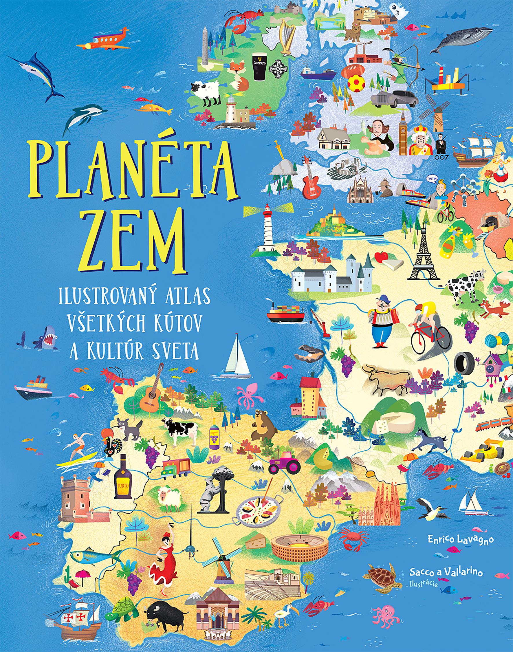 Planéta Zem Ilustrovaný atlas