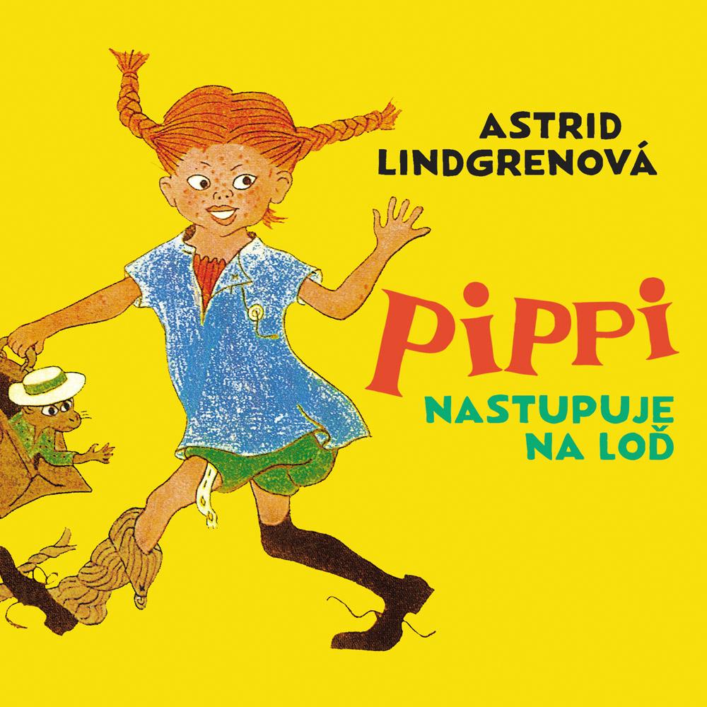 Audiokniha Pippi nastupuje na loď
